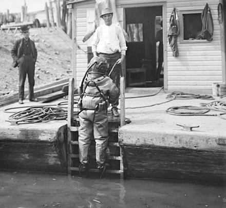 Photo of a Vortex heavy lift job