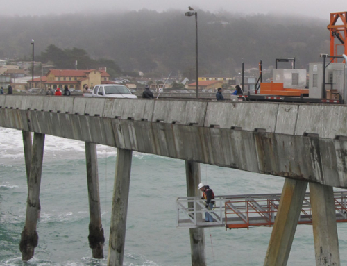 Pacifica Fishing Pier Repair