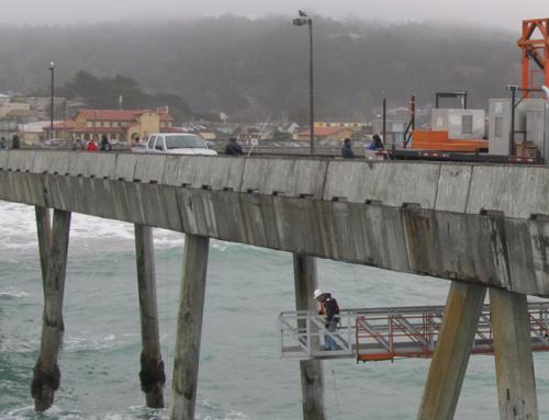 Pacifica Fishing Pier Repair
