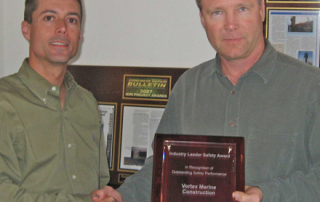 Vortex awarded Industry Leader Safety award from Signal