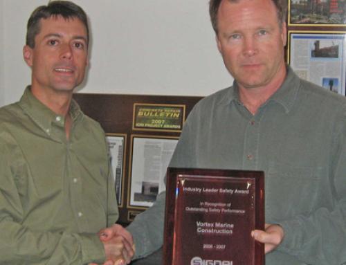 Vortex Earns Signal Mutual Award